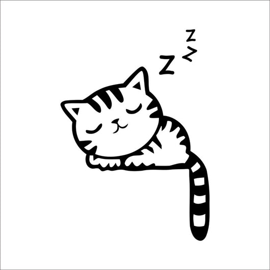 HOME -  Cat Dog Switch Stickers Wall Stickers Home Decoration Bedroom