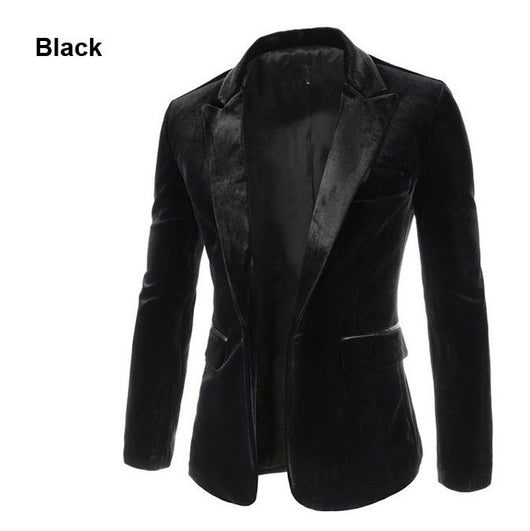 JACKET  -  Elegant Single Button