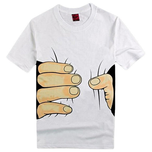 The Ultimate Giant Hand Squeezing T-Shirt