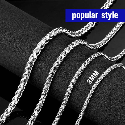 Steel  Necklace Chain
