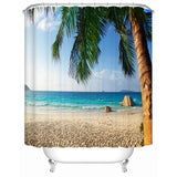 Shower Curtains  The Beach