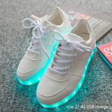 Colors Luminous Sneakers Glowing LED Shoes