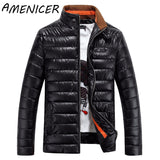 New Arrival Men Fashion Parka Mens Winter Jackets Casual Stand Collar Factory-Direct-Clothing Casacos De Inverno Masculino