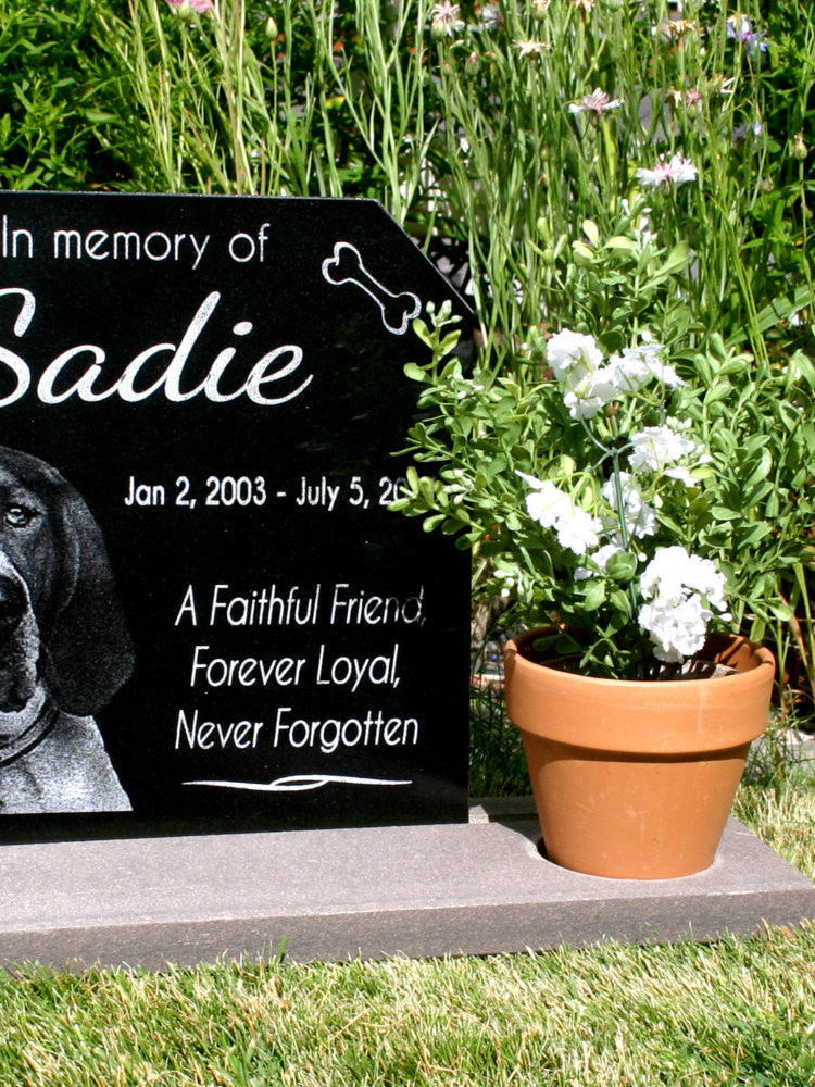 pet memorial stone custom pet grave marker dog cat memorial garden