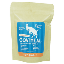 Load image into Gallery viewer, Goatmeal - Grain-free Breakfast Cereal - Original & Cinnamon Raisin 225g,Colin Traquair