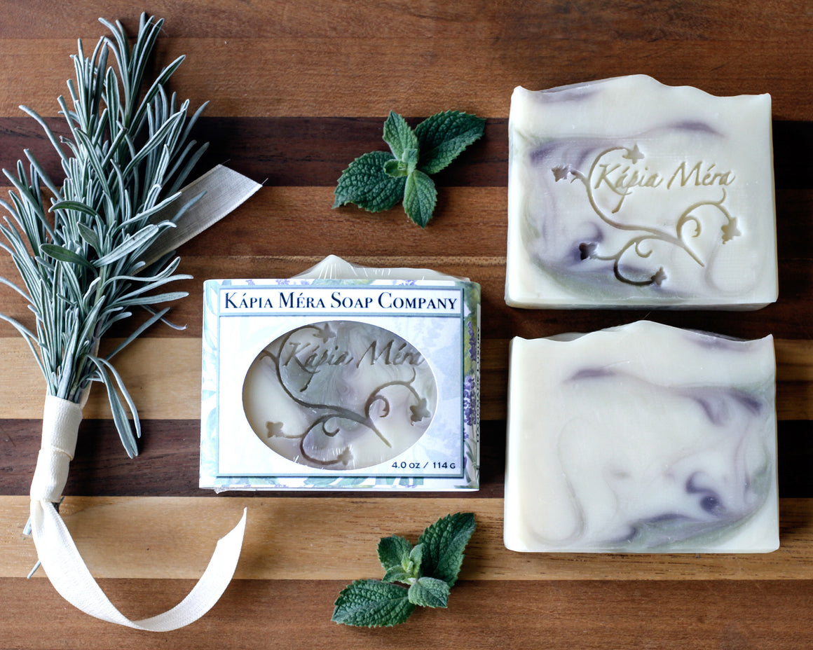 Lavender, Tea Tree, & Mint with Coconut Milk (Vegan)