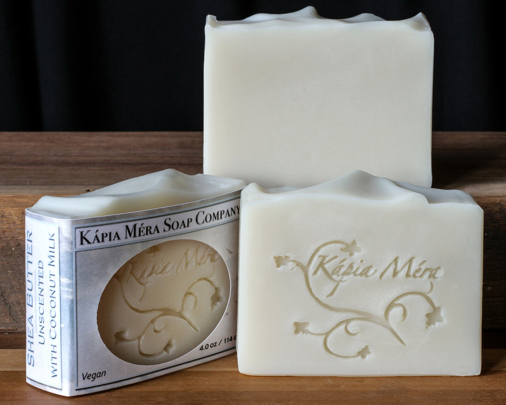 Shea Butter Unscented with Coconut Milk (Vegan)