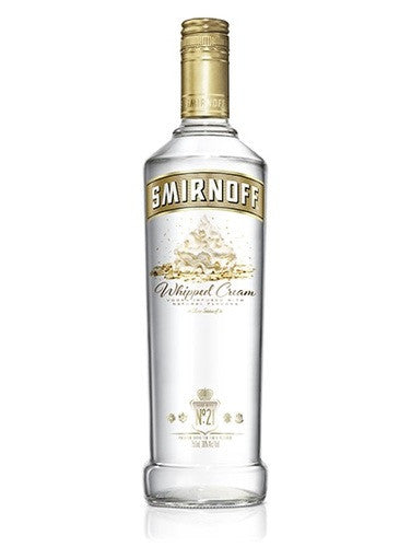 SMIRNOFF WHIPPED CREAM 750ML.