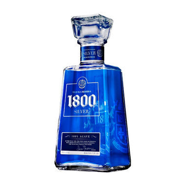 TEQUILA 1800 SILVER 750ML.