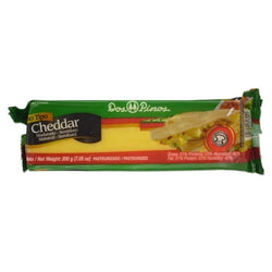DOS PINOS CHEESE CHEDDAR BAR-200G.