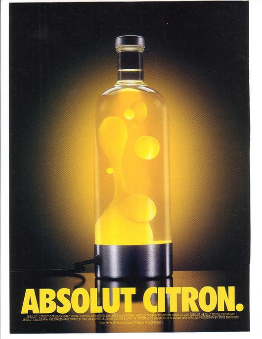 ABSOLUT VODKA CITRON 750ML.