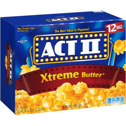 ACT II POPCORN BUTTER EXTRA 91G.