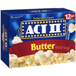 ACT II  POPCORN W/ BUTTER 91G.