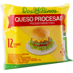 DOS PINOS CHEESE PROCESSED 12 SLICES