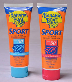 BANANA BOAT SPORT F-50 118ML.