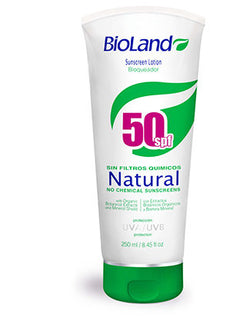 BIOLAND SUNSCREEN NATURAL F-50 250ML.