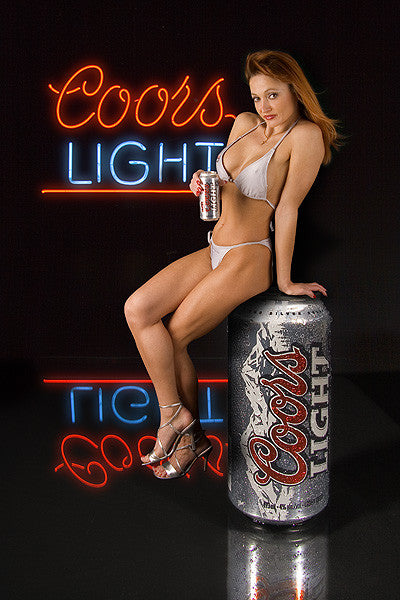 ALMOST BEER COORS LIGHT 355ML.