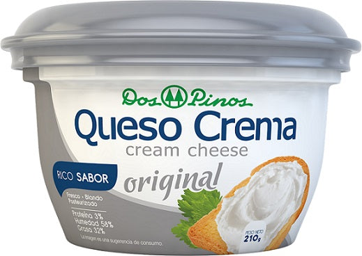 DOS PINOS CHEESE CREAM ORIG. 210G.