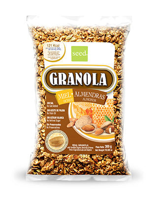 BIOLAND GRANOLA HONEY-ALMONDS 300G