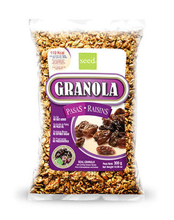 BIOLAND GRANOLA WITH RAISINS 300G.