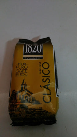 1820 GROUND COFFEE 125G.