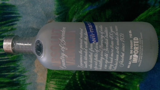 ABSOLUT VODKA VAINILLA 750ML.