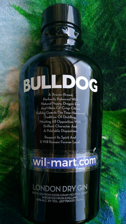 Bulldog Monday Dry Gin 750 ml