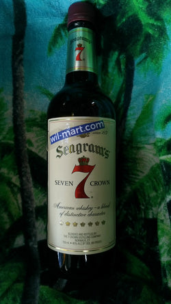 SEAGRAMS 7 CROWN WHISKEY 750ML