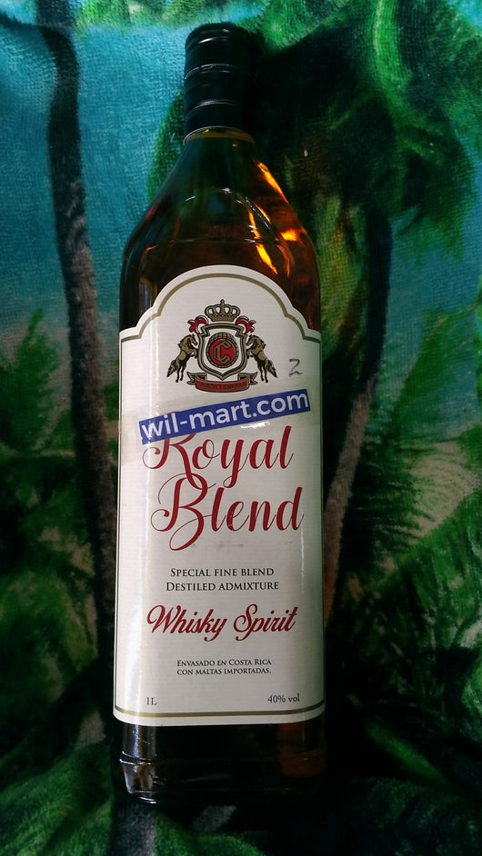 Royal Blend Whisky Spirit 1L