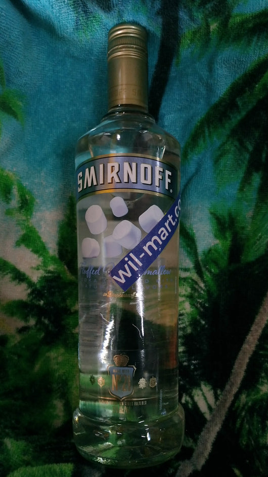 Smirnoff Vodka flutted marshmallows  750ml
