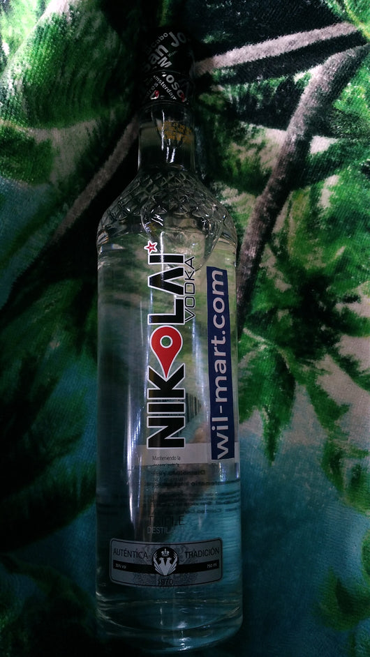 NIKOLAI VODKA 750ML.