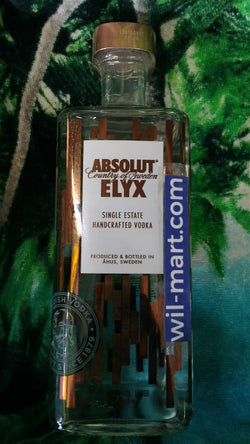 Vodka Absolut Elix 1L