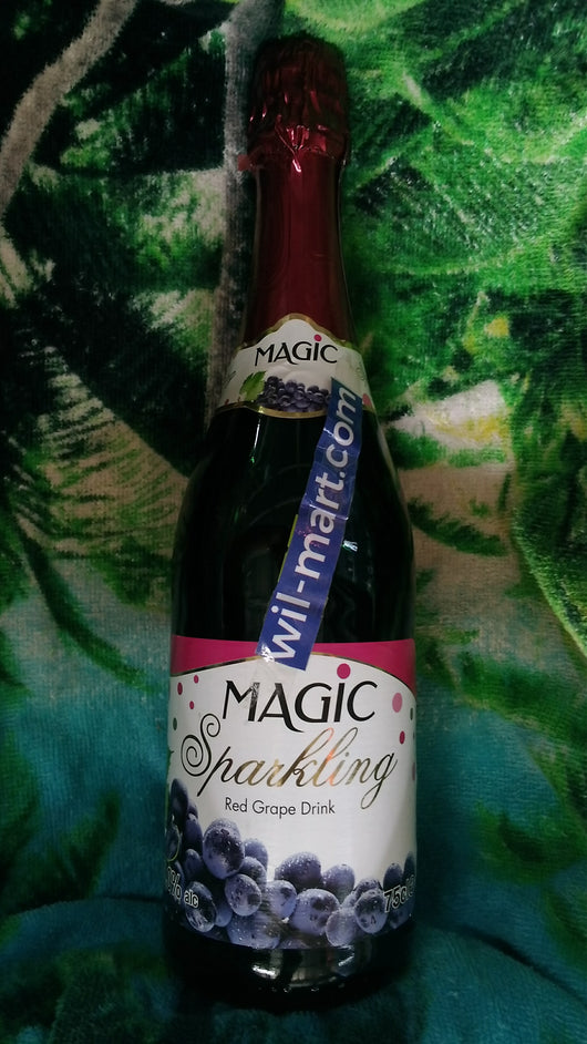 Magic Sparkling Red Grape Drink
