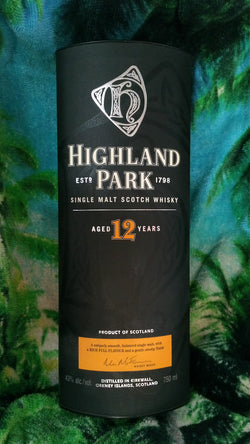 Whisky Highland Park  Aged 12 Year  750ml