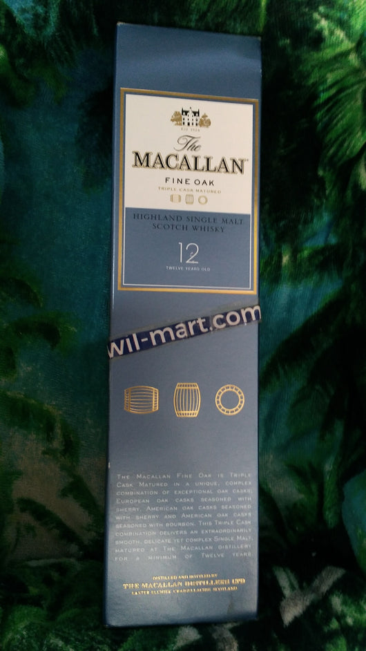 The Macallan 12 year Highland Single Malt Scotch Whisky