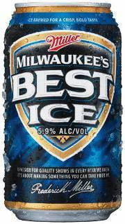 BEER MILWAUKEES BEST ICE CAN