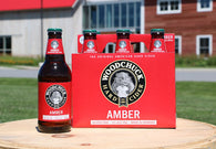 BEER AMBER RED APPLE 355ML.