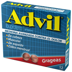 ADVIL IBUPROFEN 12 TABLETS