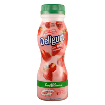 DOS PINOS DELIGURT WITH FRUITS 750ML.