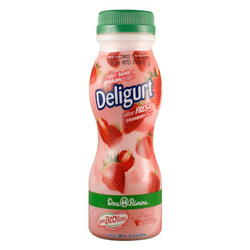 DOS PINOS DELIGURT CHEESECAKE STRAWBERRY 200ML.