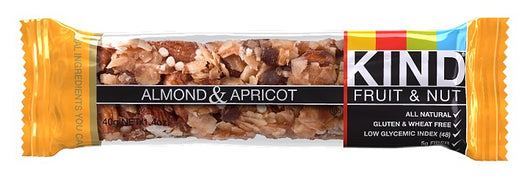 BE-KIND ALMOND & APRICOT 40G.