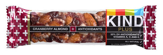 BE-KIND CRANBERRY ALMOND 40G.