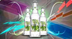 BOTRAN VIP GREEN APPLE 355ML.