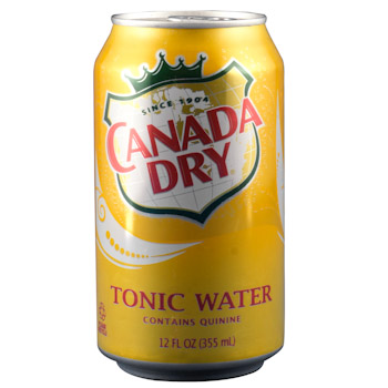 CANADA DRY WATER TONICA LATA 354ML.
