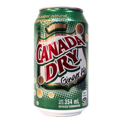 CANADA DRY GINGER ALE LATA 354ML.