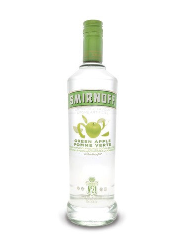 SMIRNOFF GREEN APPLE 750ML.