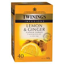 TE TWININGS LEMON & GINGER
