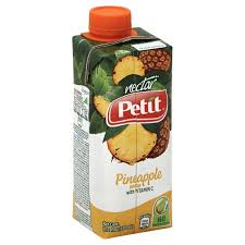 PETIT NECTAR PINEAPPLE LAT.330ML.