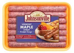 JOHNSONVILLE BREAKFAST SAUSAGE VERMONT MAPLE