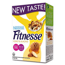 NESTLE FITNESS HONEY & ALMOUND 390G.